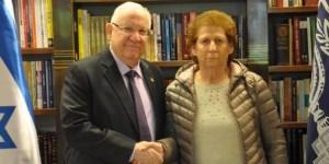 """""""Su hijo fue un héroe"""", le dijo el presidente de Israel a la madre de Nisman"""