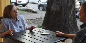 """""""Todo el mundo tiene que tener acceso a la educación, saber leer y escribir"""", señala la científica.Foto: Gustavo Carabajal."""