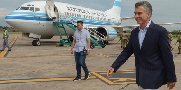 Macri vuela a Asia acompañado por 120 empresarios