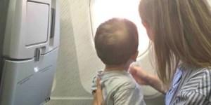 Consejos al viajar con niños en avión