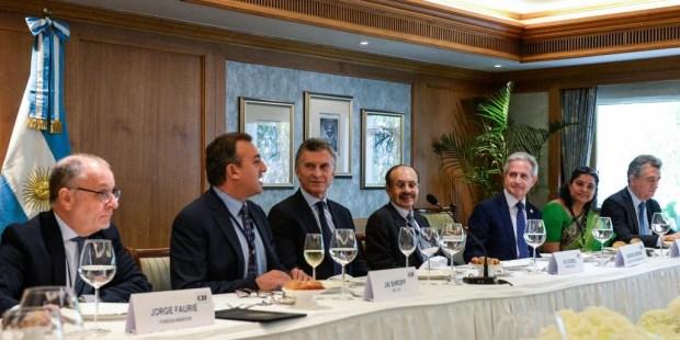 """Macri: """"Veo en India un socio para el futuro"""""""