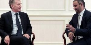 El presidente Mauricio Macri se reunió con el gerente general de Reliance Sports, Sundar Raman