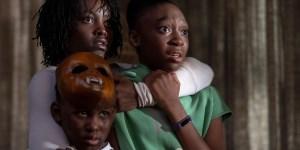 """Lupita Nyong""""o, Evan Alex y Shahadi Wright Joseph encarnan a la familia protagónica."""