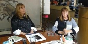 Silvia y Adriana, continuadoras de un oficio al que le ponen mucha pasión. Foto: Gustavo Carabajal