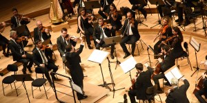 La Orquesta Filiberto ejecutó, con segura intervención, cinco producciones de músicos de finales del siglo XIX e inicios del XX. Foto: GEORGINA GARCIA-DNOE