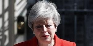 Renunció Theresa May como primera ministra británica y deja el cargo el 7 de junio