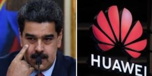 """Maduro anunció una """"inversión inmediata"""" en la empresa Huawei para reforzar la red 4G"""