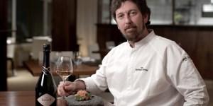 """El chef Santiago Blondel, ganador de la segunda edición del """"Prix de Baron B - Édition Cuisine""""."""