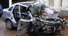 Cinco muertos en un choque frontal en la ruta 9