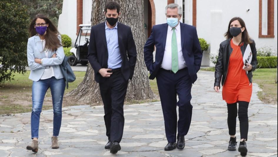 """El mensaje de Fernández al titular de la Corte por la Ley Micaela: """"Le pedimos que se ocupe y solo recibimos silencio"""""""