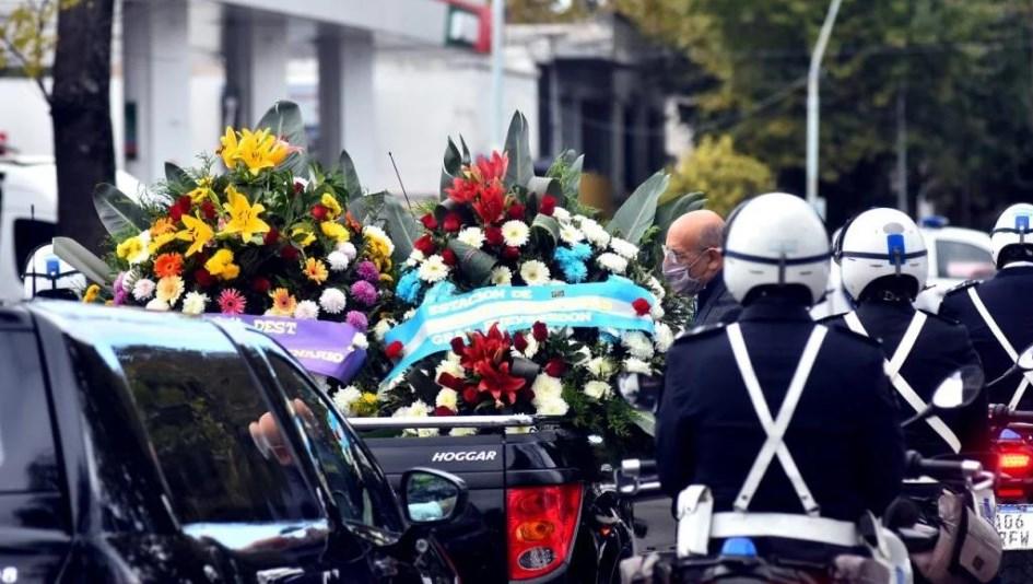 Mar del Plata: despidieron los restos del policía que mataron al verificar una fiesta clandestina