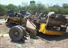 Tragedia en Santiago del Estero: 13 muertos al volcar un ómnibus