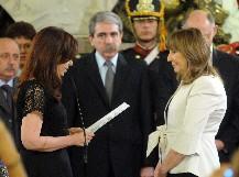 La Presidenta le tomó juramento a la nueva Procuradora del Tesoro de la Nación