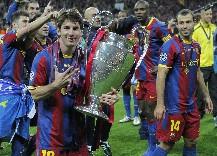 Barcelona campeón de Europa con un Messi excepcional