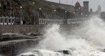 Después de sufrir un gran apagón, Mar del Plata fue sacudida por un temporal de fuertes vientos, lluvia y granizo
