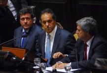 """Scioli aseguró que es """"necesario adecuar el federalismo fiscal"""" a los nuevos tiempos"""