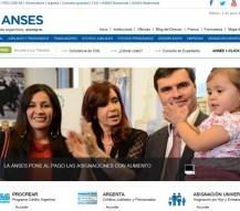 Nueva página de la Anses