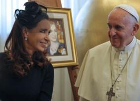 La Presidenta aseguró que el Papa no está preocupado por la gobernabilidad