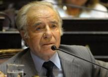"""Menem propuso que """"los militares intervengan para combatir la inseguridad y la droga"""""""