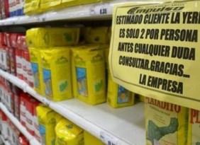 El Gobierno frenó el aumento del precio de la yerba mate