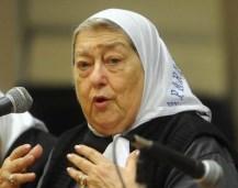 """Bonafini calificó a los opositores como """"enemigos"""""""