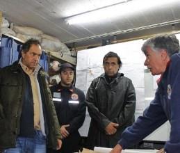 """Scioli dijo que los afectados por el temporal en Luján """"están volviendo a sus hogares"""""""