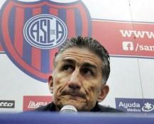 """Bauza: """"San Lorenzo está flojo y me preocupa la falta de efectividad"""""""