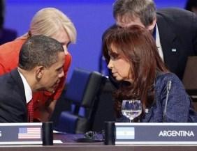 Cristina le expresó su malestar a Obama por la designación de una funcionaria