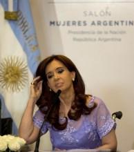 """Cristina Fernández: """"Nadie le puede decir a la Presidenta que se calle"""""""