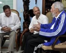 Fidel Castro se reunió con los Cinco Héroes y publicó las fotos