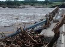 Casi 2.000 evacuados en San Luis y alerta en Córdoba y Santa Fe por tormentas y desbordes de ríos