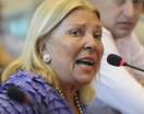 """Carrió denunció que está amenazada y prometió declarar """"la verdad entera"""" en el caso Nisman"""