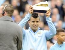 Agüero anotó y se coronó como máximo goleador de la Premier