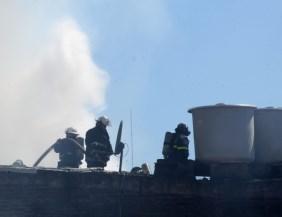 Se incendió un conventillo en La Boca: 26 personas resultaron heridas
