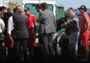 El plantel de Huracán regresó de Venezuela tras el accidente
