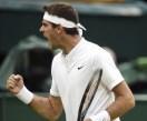 Del Potro dio el golpe al vencer al suizo Wawrinka y avanza en Wimbledon
