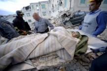 El terremoto en Italia tuvo más de 160 réplicas