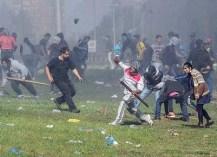 Fuerzas federales desalojaron a manifestantes que bloquearon la autopista Buenos Aires-La Plata