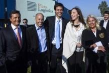 Vidal y Carrió juntas en un acto en Pilar