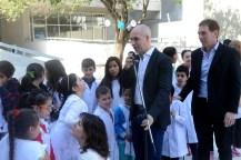 Larreta inauguró el primer edificio escolar inteligente en la Ciudad