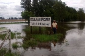Un 60 por ciento de General de Villegas está bajo el agua por las inundaciones