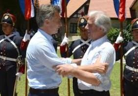 Macri recibe a Tabaré Vázquez para darle un nuevo impulso a la relación bilateral