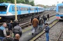 Un paro de jerárquicos ferroviarios complicó a miles de pasajeros