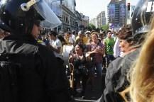 Los manteros negocian con el gobierno porteño y quieren ser reubicados en Plaza Miserere