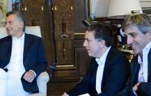 El Presidente tuvo su primera reunión de coordinación con Dujovne y Caputo