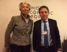 La directora del FMI elogió los esfuerzos de la Argentina en su política económica