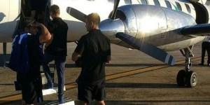 Uno de los integrantes del vuelo que traía a Racing desde Córdoba había decidido grabar el despegue con su teléfono celular.