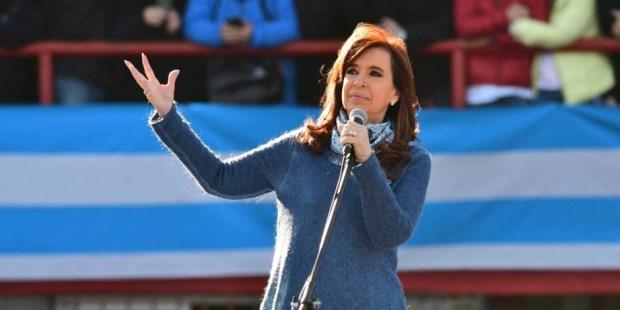 CFK será candidata a senadora nacional.