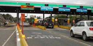 Rige el aumento en los peajes de las autopistas porteñas