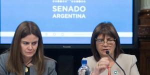 """La ministra de Seguridad de la Nación, Patricia Bullrich, aseguró que el Gobierno """"no va a ser cómplice de nada"""" y """"de ninguna manera avalaría una sit"""